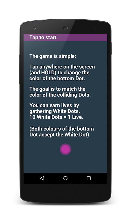 Tap The Dot- screenshot