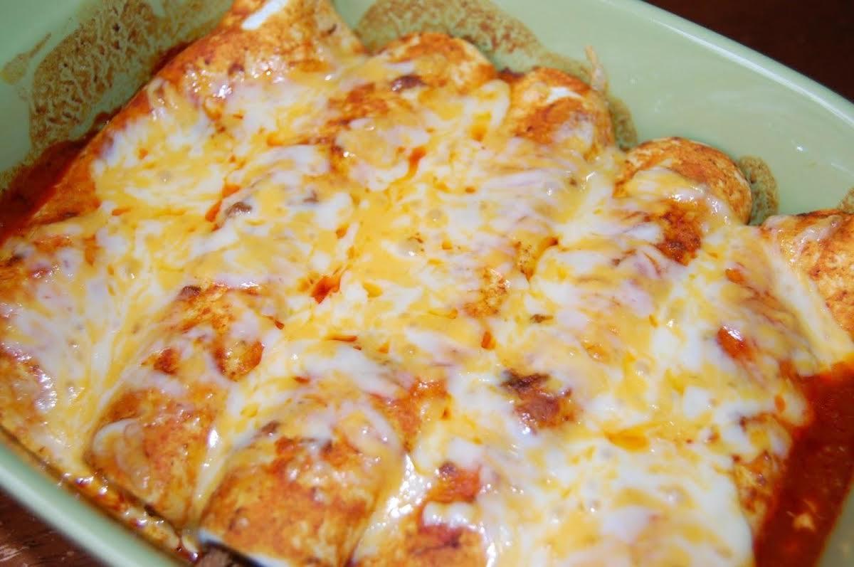 Tex-Mex Beef Enchiladas   Just A Pinch Recipes