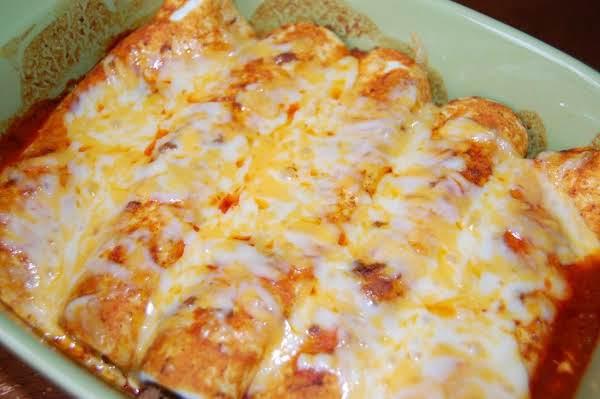 Tex-mex Beef Enchiladas (sallye) Recipe