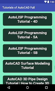 Free AutoCAD Tutorial Full - náhled