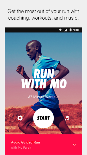 Nike Run Club screenshot 1