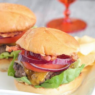 Sriracha Ranch Bacon Cheeseburger.