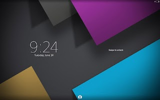 Screenshot of XPERIA™ Spectrum Theme