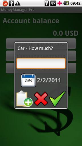 MoneyManager screenshot 3
