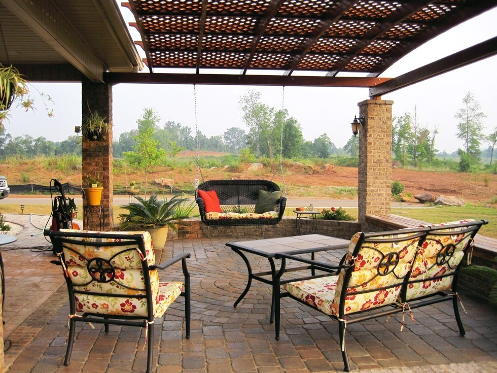 outdoor garden pergola extension of outdoors