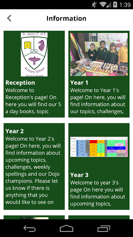 St John's CofE Primary School- screenshot