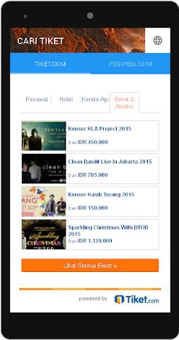 android Cari Tiket Screenshot 3
