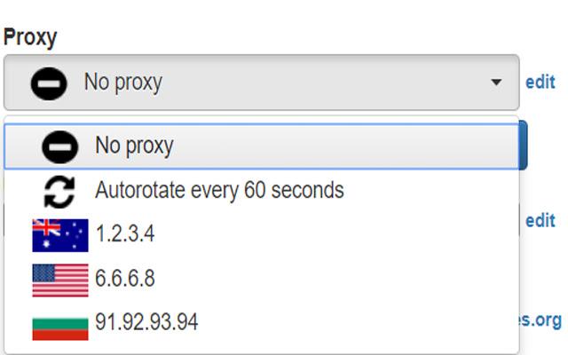 BP Proxy Switcher