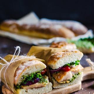 Chicken and Pesto Sandwiches Recipe