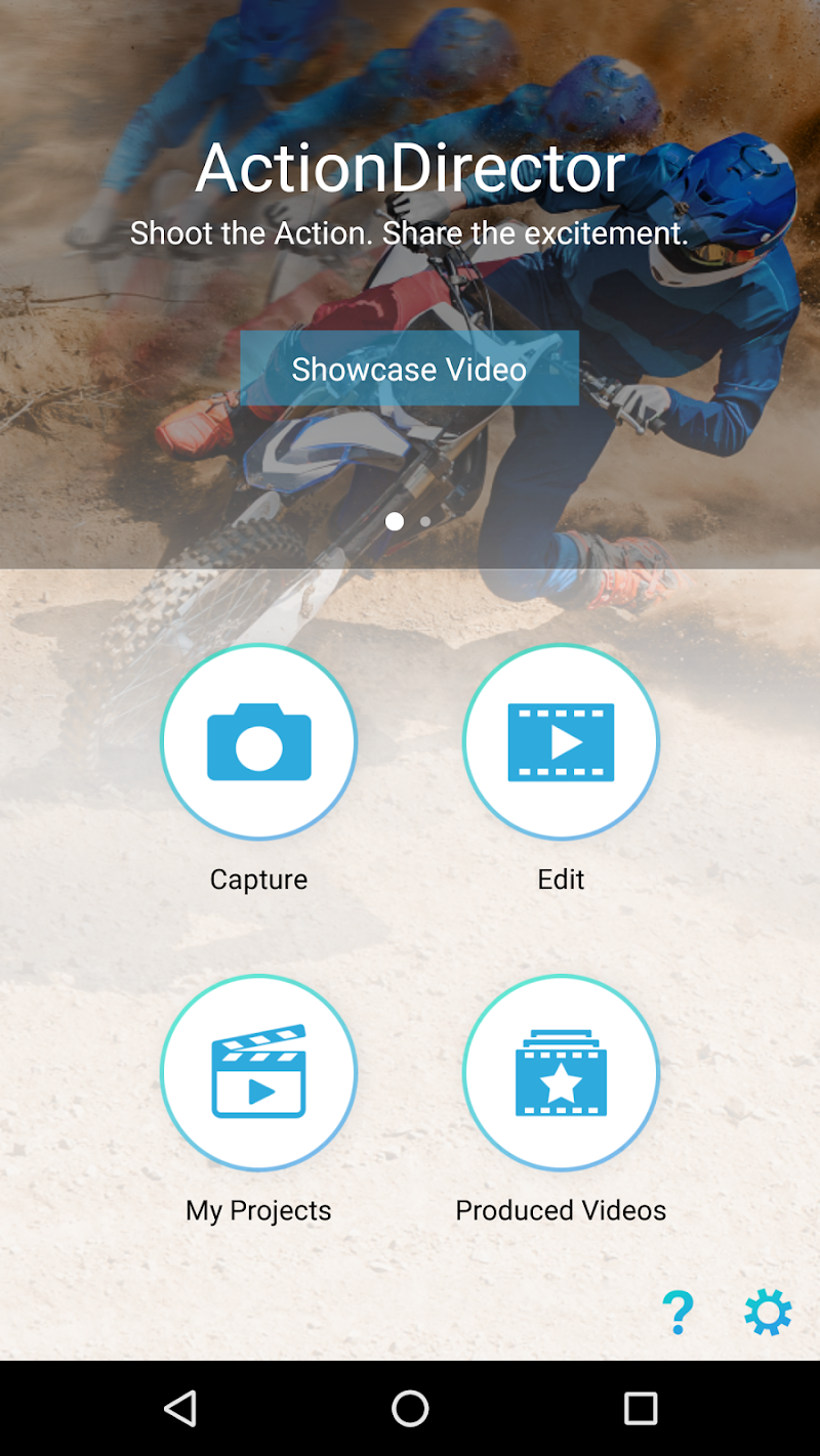 ActionDirector Video Editor - Edit Videos Fast Screenshot 0