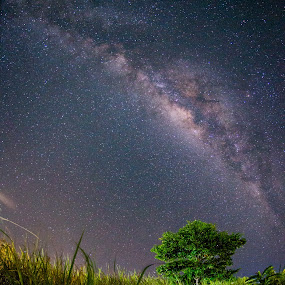 Milkyway by Ambo Sakka Mappeasse - Landscapes Starscapes