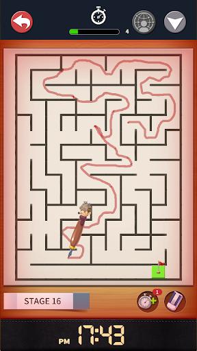 Maze : Pen Runner 1.1.5 gameplay | by HackJr.Pw 12