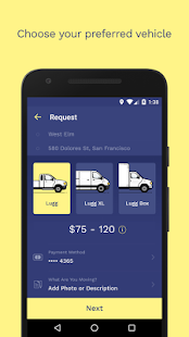 Lugg – Your On-Demand Mover- screenshot thumbnail