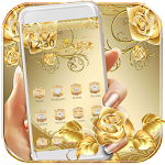 Gold Rose Theme luxury gold Icon