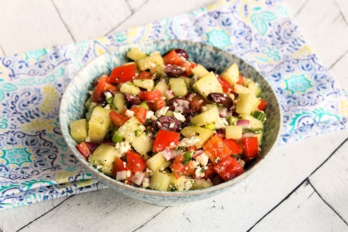 Pami's Chunky Chopped Salad