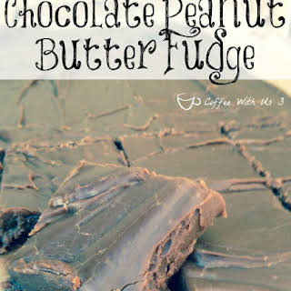 Chocolate Peanut Butter Fudge.