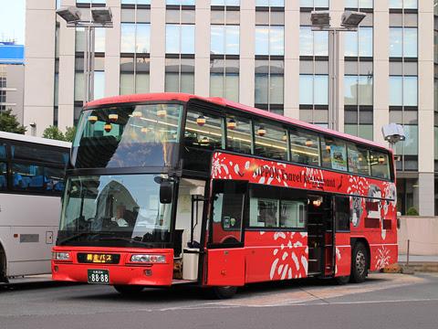 WILLER(網走バス)「レストランバス」 札幌8888 ビアナイト・レストランバスSAPPORO その1