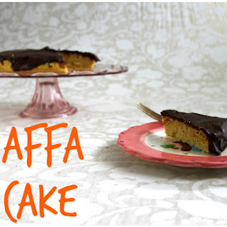Jaffa Cake {Gluten and Wheat-Free} and a Weepy Wednesday.