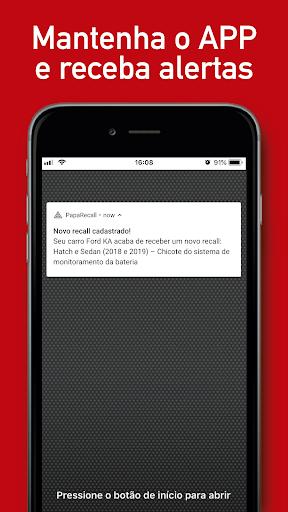 PapaRecall: Recall de Carro 3.5.2 screenshots 4