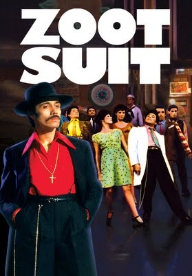 a review of zoot suit a book by luis valdez Review: cara mia's 'zoot suit' by jerome weeks 15 dec 2014 luis valdez' landmark chicano drama finally comes to texas, thanks to cara mia race riots, a bizarre, historic murder trial that railroaded 17 innocents — plus, hey, latin music, dance and defiant flair.