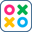 Tic Tac Toe Colors for 2 players icon