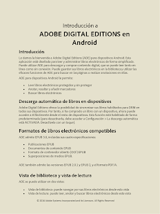 Adobe Digital Editions: miniatura de captura de pantalla