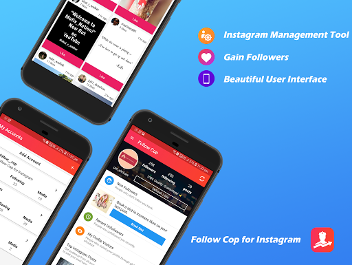 Unfollowers for Instagram, Follow Cop 4.8.3 screenshots 1