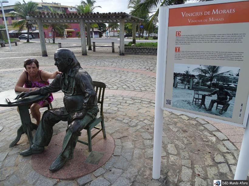 O que fazer em Salvador (Bahia) - Praça Vinícius de Morais - Itapuã