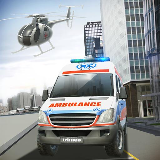 模擬App|Ambulance & Helicopter SIM 2 LOGO-3C達人阿輝的APP
