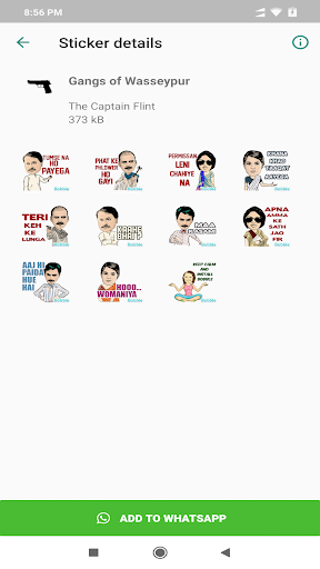 Bollywood Stickers For WhatsApp - WAStickerApps hack tool