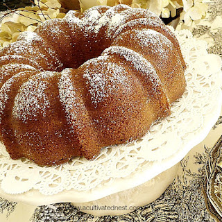 Root Beer Spice Cake.