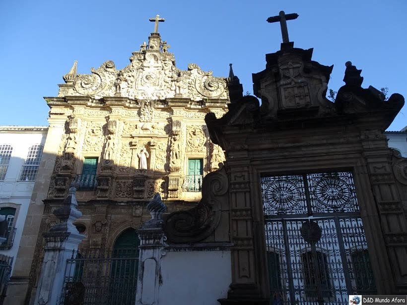 O que fazer em Salvador (Bahia) - Igreja da Ordem Terceira de São Francisco
