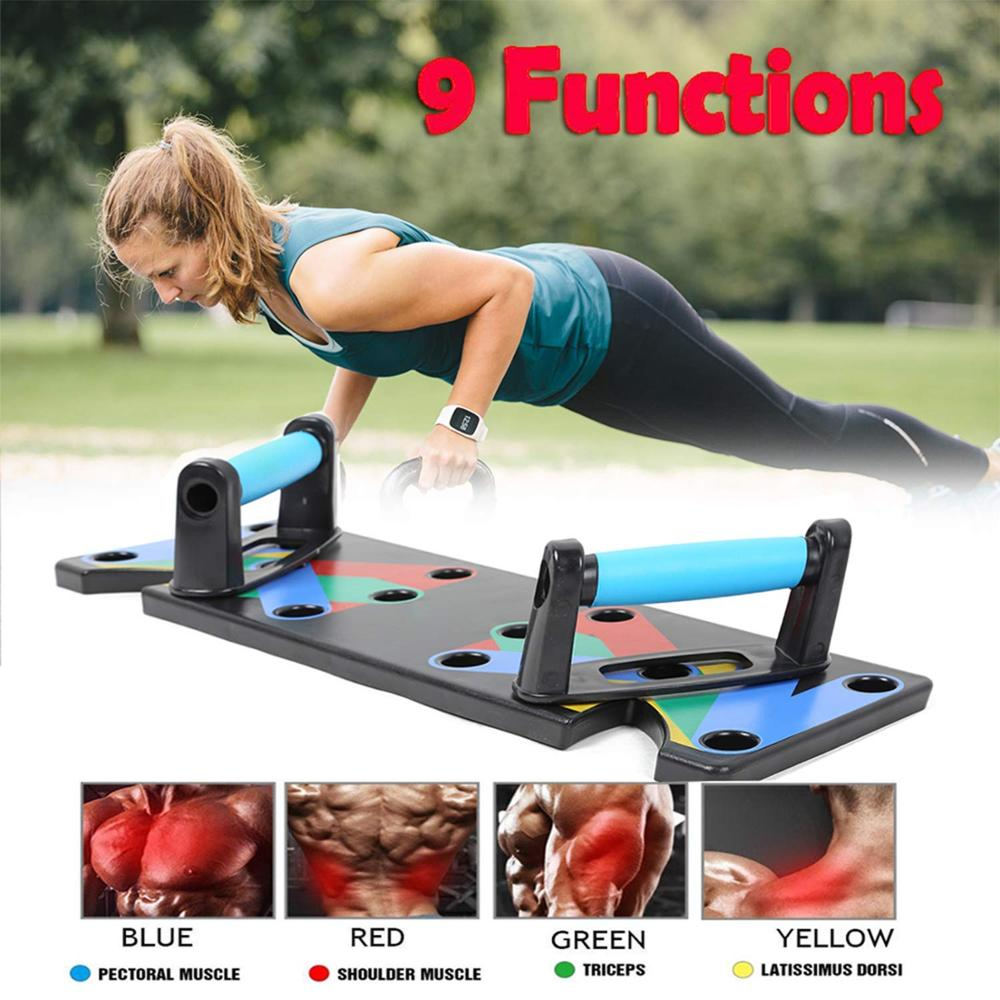 9 In 1 Push Up Board Fitness Products