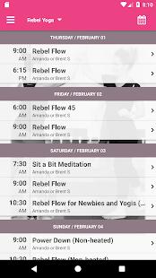 Rebel Yoga - náhled