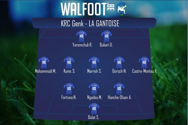 La Gantoise (KRC Genk - La Gantoise)