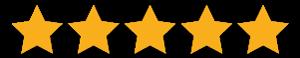 Client Reviews - 5 Stars