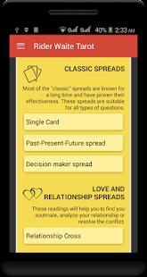 Classic Rider-Waite Tarot Deck screenshot