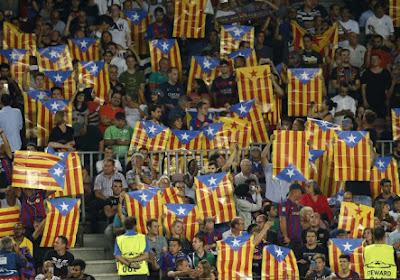 Le Barça et l'UEFA trouvent un accord concernant les Esteladas