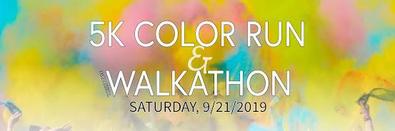 33rd Annual 5k Color Run & Walkathon
