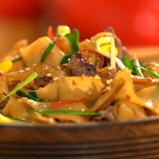 Beef Chow Fun.