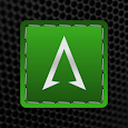 Threaded Silver Green Icons icon
