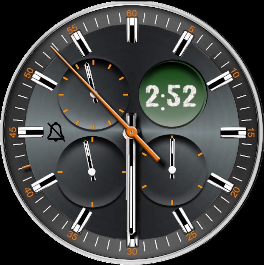 Alarm Clock elegant watch face
