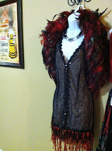 Photo: Glamorous Flapper Dress (Rents with all 4 pieces, feather headpiece and boa included! Reserve for parties or Halloween!)