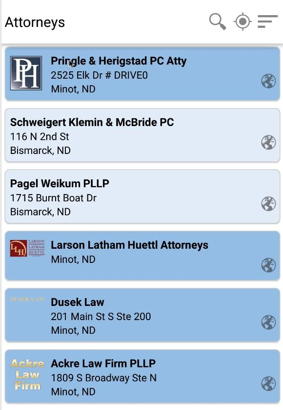SRT Minot Phone Directory- screenshot