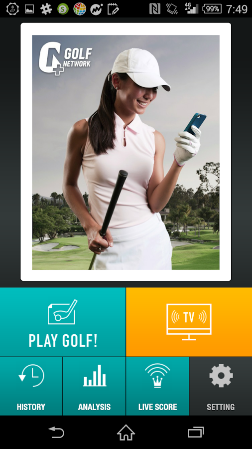 GOLF NETWORK PLUS - screenshot