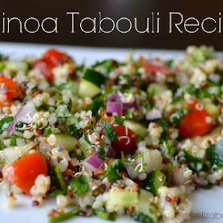 Quinoa Tabouli With Parsley & Mint.
