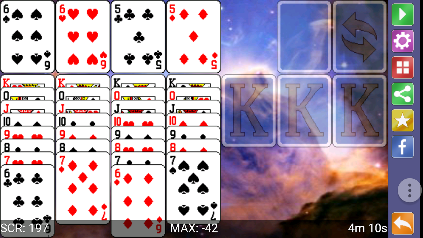 how to play klondike solitaire online