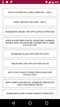Application Form Download For Pan Card on pan card correction application form, pan card apply online, pan card form 49a,
