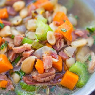 Rosemary White Bean Soup With Ham Recipes