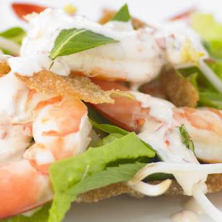 Shrimp Salad with Chili-Lime Mayonnaise.